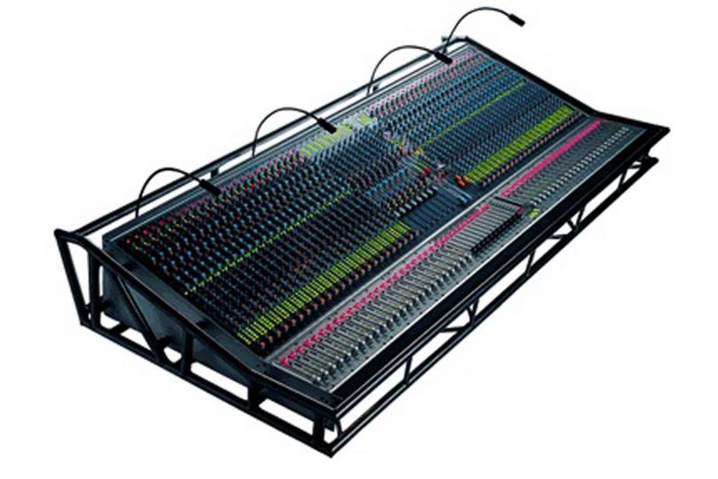 CONSOLE AUDIENT AZTEC 48 VOIES en flight + choco