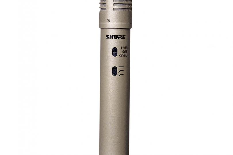 MICRO SHURE KMS137 (filaire) + valise + pince