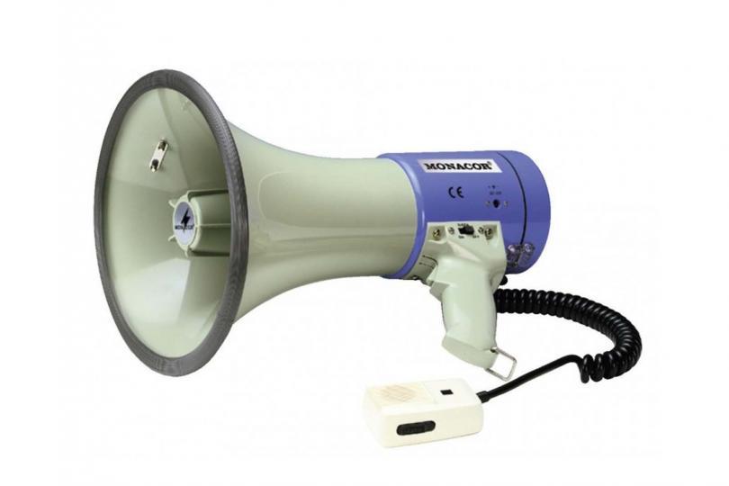 PORTE VOIX/MEGAPHONE TM27 MONACOR 25W