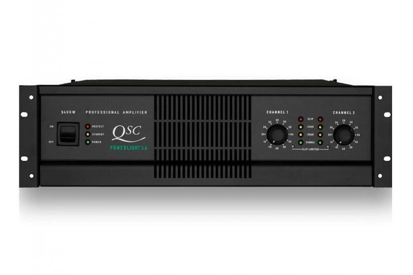 AMPLIFICATEUR POWERLIGHT 3.4 QSC en flight