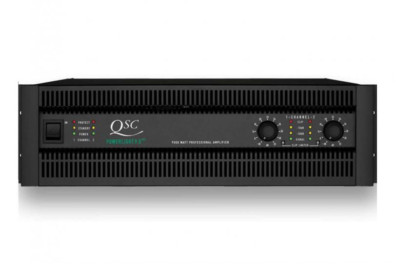 AMPLIFICATEUR POWERLIGHT 9.0 QSC en flight