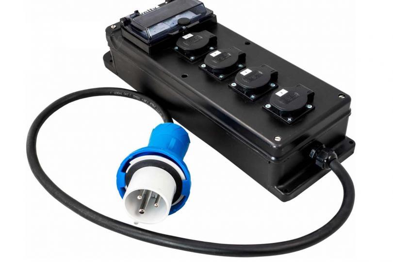SABOT ELECTRIQUE 32A MONO (4 PC 16A)
