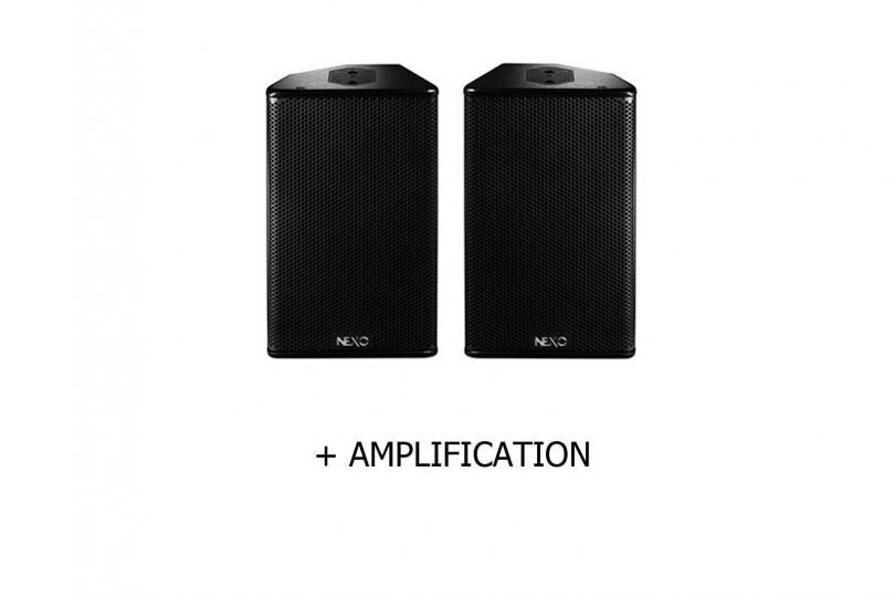 SYSTÈME 2 PS10 & AMPLIFICATION NEXO