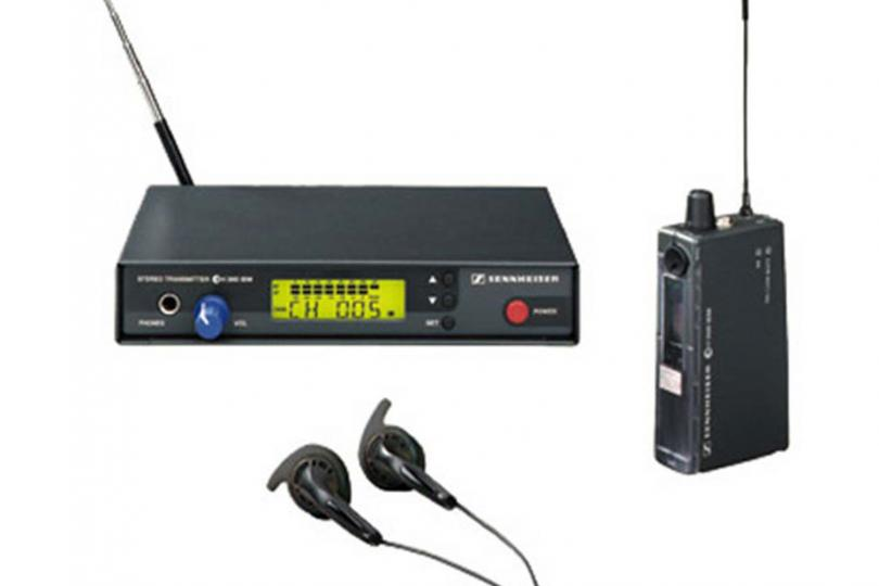 EAR MONITOR EW300 (transmetteur + récepteur + transfo + oreillettes) SENNHEISER