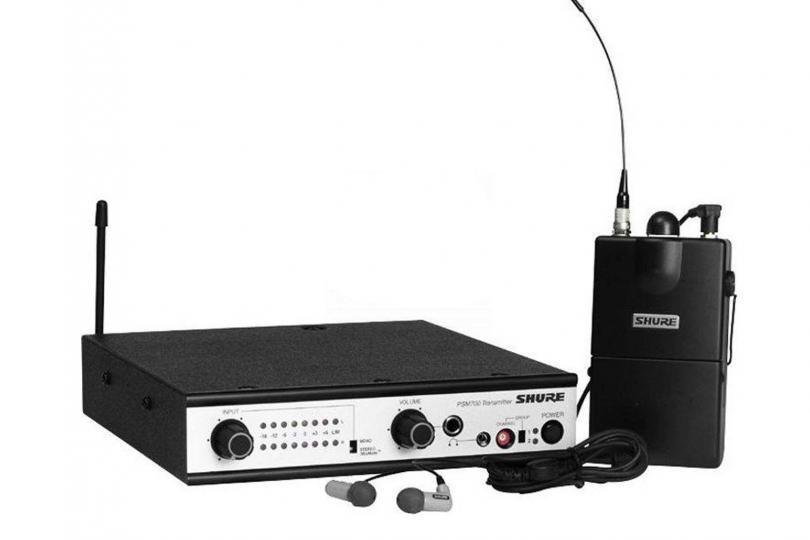 EAR MONITOR PSM700 (transmetteur + récepteur + transfo + oreillettes) SHURE