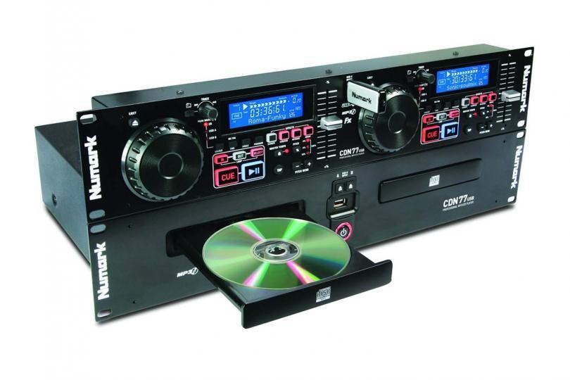 PLATINE CD DOUBLE MP3/USB CDN77 NUMARK