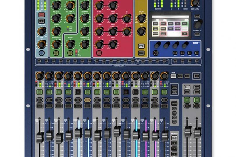 CONSOLE SI EXPRESSION16 SOUNDCRAFT en flight