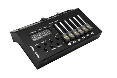 CONSOLE MINI DMX 54 CIRCUITS DUNE