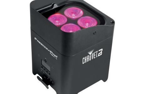 PROJECTEUR LED FREEDOM PAR QUAD SUR BATTERIE CHAUVET