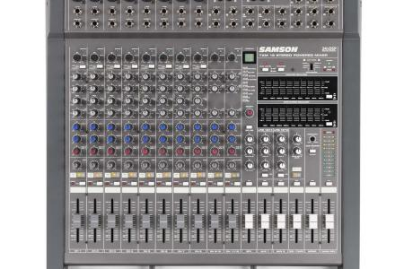 CONSOLE AMPLIFIEE SAMSON TXM16 en flight + choco