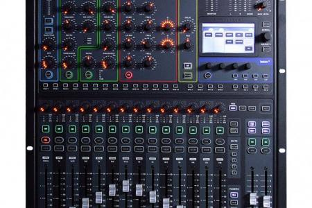 CONSOLE SI COMPACT16 SOUNDCRAFT en flight