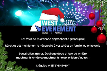 WEST EVENEMENT Rennes prépare les fêtes de fin d'années !